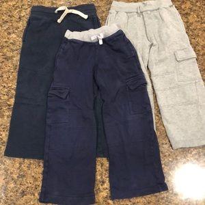 🛍SALE🛍Boys Sweatpants size 6 (total of 3)